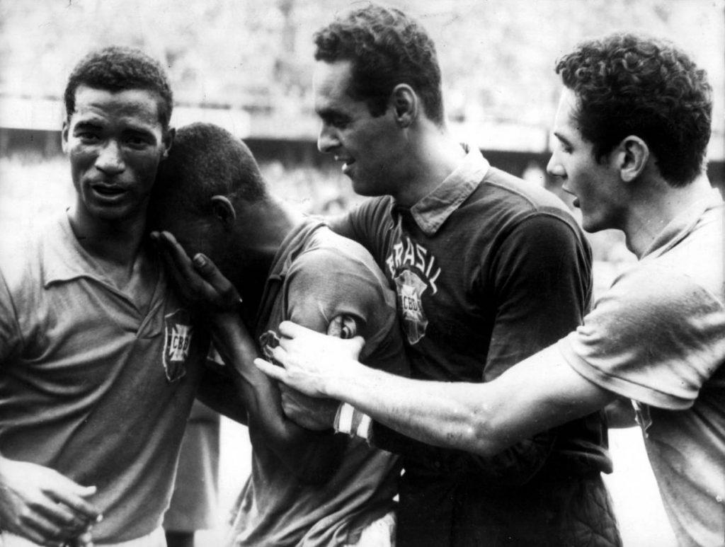 Wenn Pele mit Garrincha in der Selecao spielte, blieb Brasilien ohne Niederlage.