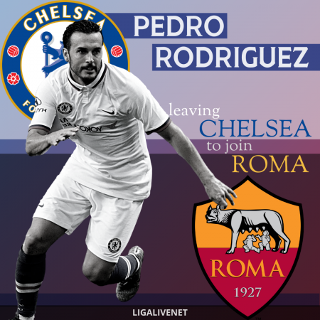 Pedro Rodriguez transfer from Chelsea to Roma