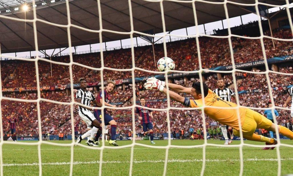 """Ivan Rakitić ist einer der heutigen """"Barca""""-Stars. Ein Führungsspieler, der im Bild das so wichtige 1:0 im Champions-League-Finale 2015 gegen Juventus Turin erzielt."""