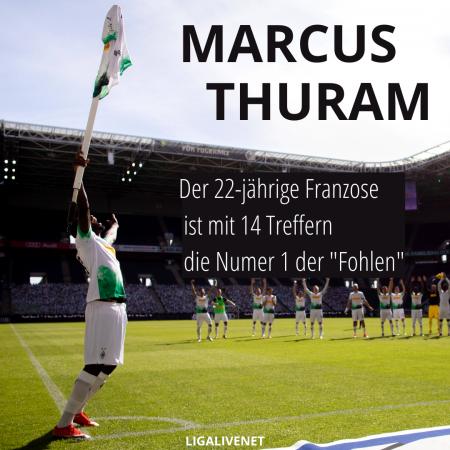 Marcus Thuram unverzichtbar bei Borussia Mönchengladbach