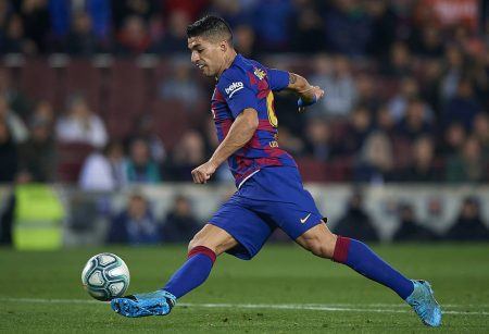 Suarez aiming another Barcelona record