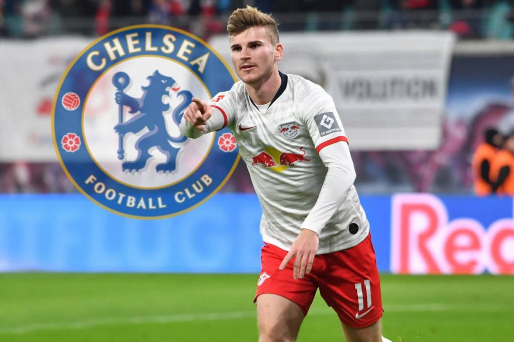 How Chelsea won the race for Timo Werner