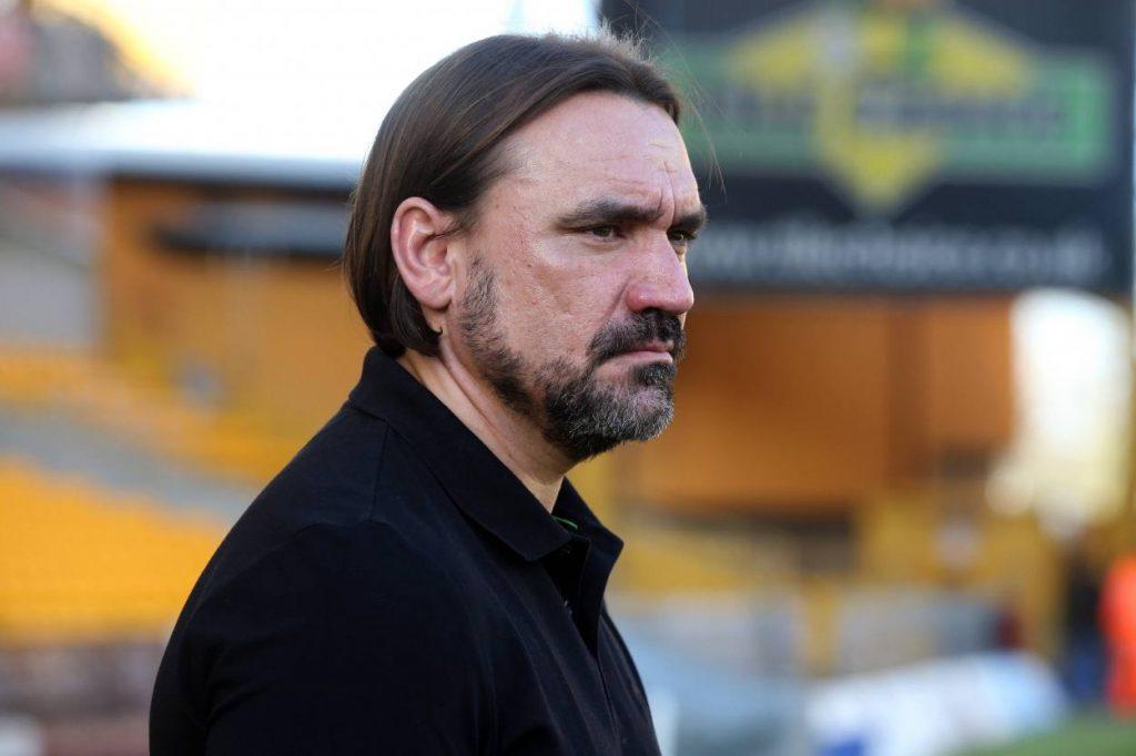 Trainer Daniel Farke vom Premier League Klub Norwich City in England