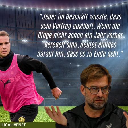 Jürgen Klopp über Mario Götze