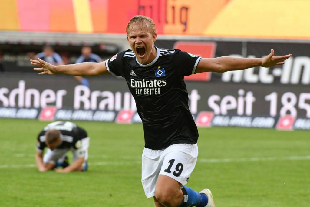 Joel Pohjanpalo - Dynamo Dresden - Hamburger SV 0:1