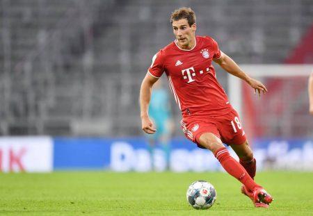 Fussball-Bundesliga Leon Goretzka (Bayern München) traf beim 2:1 gegen Gladbach am 31. Spieltag Saison 2019/2020