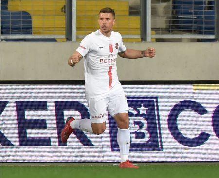 Lukas Podolski von Antalyaspor: Türkei, Türkische Liga Saison 2019/20 Süperlig