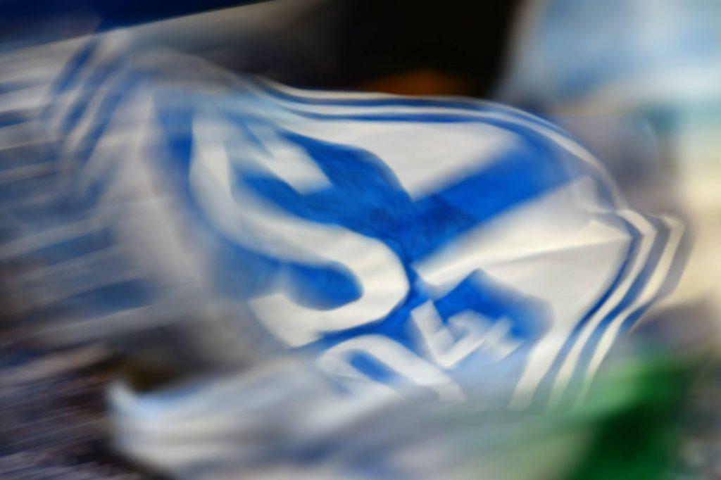 Schalke Fahne