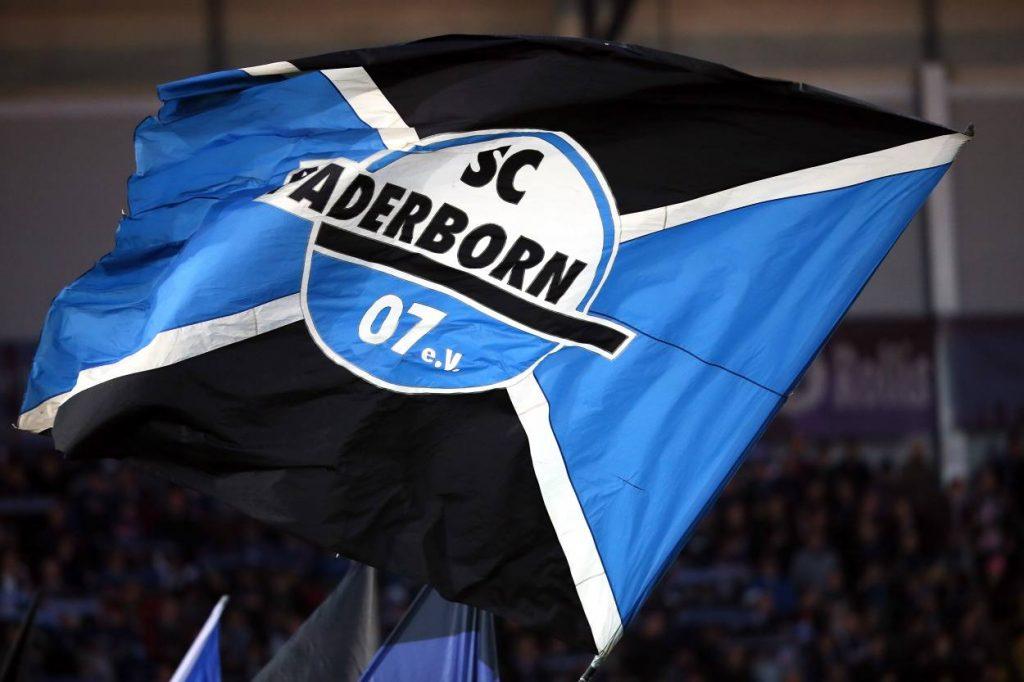 SC Paderborn Fahne.