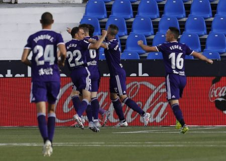 Oscar Rodriguez Amaiz scored from the spot-kick but it was too late for the home side as Valladolid beat 19th-placed Leganes by 2:1.