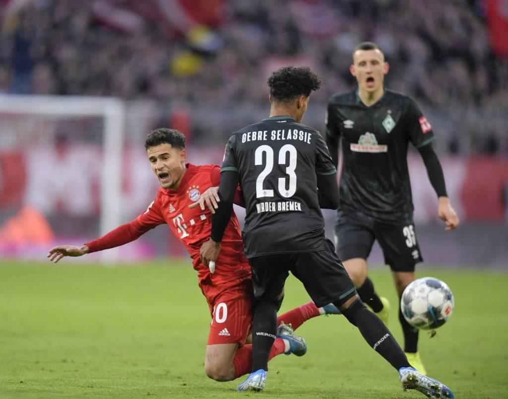 Werder Bremen, Bayern München, Couthino