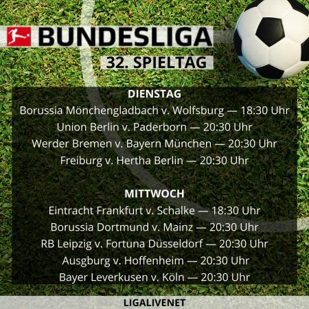 Bundesliga 2019/20 32. Spieltag