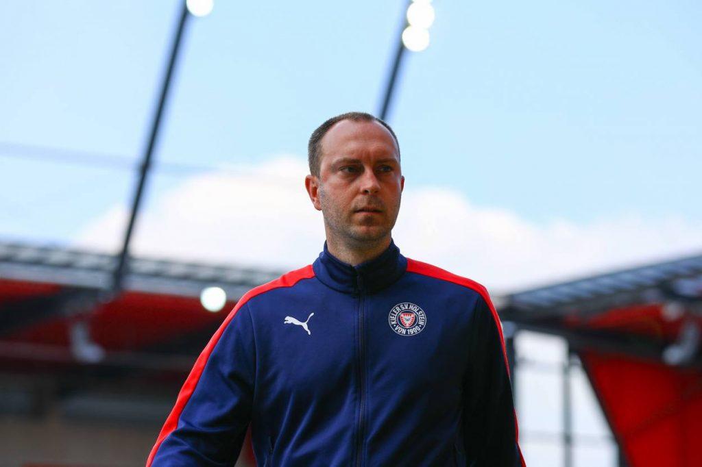 Holstein Kiel Trainer Ole Werner, Fußball Saison 2019 / 2020, 2. Bundesliga