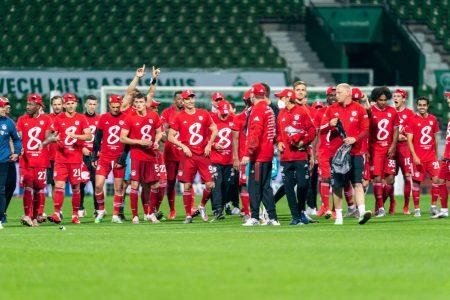 FC Bayern München Deutscher Meister 2020