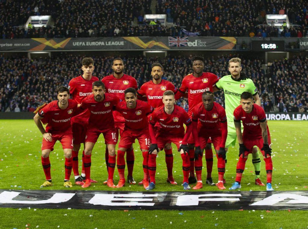 Fußball 2019 / 2020 UEFA Europa League Achtelfinale: Rangers Glasgow gegen Bayer 04 Leverkusen im Ibrox Stadium