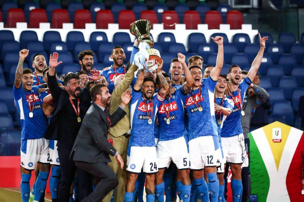 SSC Neapel Gewinner Finale italienischer Pokal