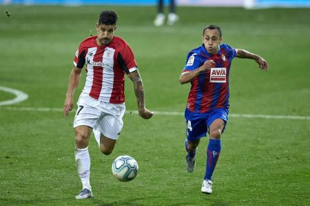 After last week's 1:1 draw against Atletico Madrid, Athletic Bilbao played another draw against Eibar as the game ended 2:2.