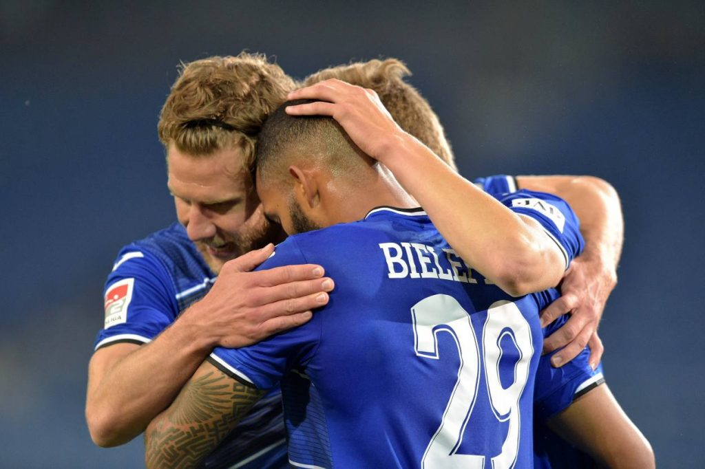 Aufsteiger Arminia Bielefeld Zweite liga meisterschaft 2019/20
