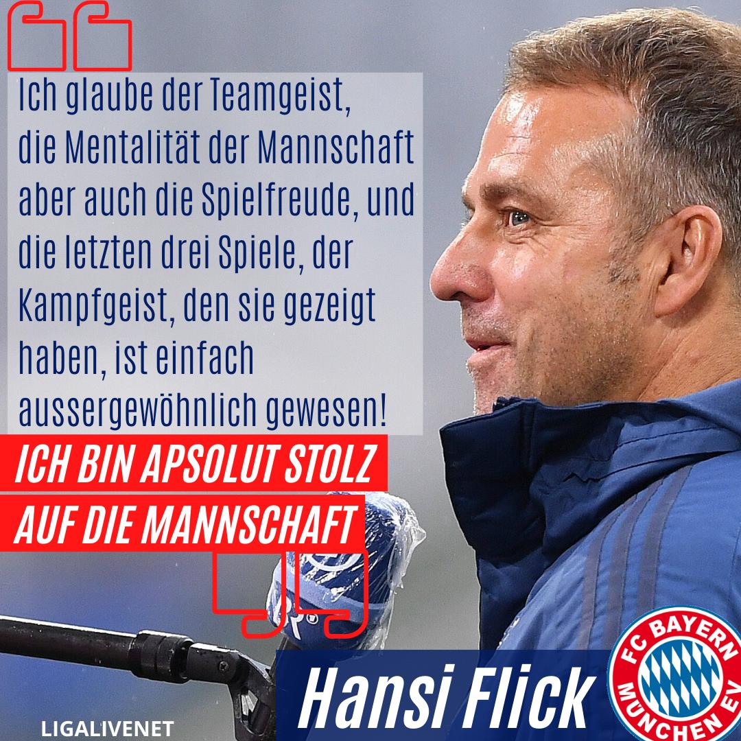Hansi Flick stolz auf Bayern