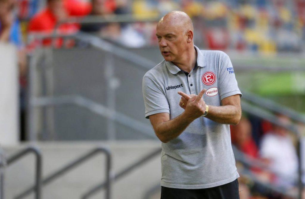 Düsseldorf, FC Augsburg, coach, Rösler, Fußball-Bundesliga, Saison 2019 / 2020 33. Spieltag
