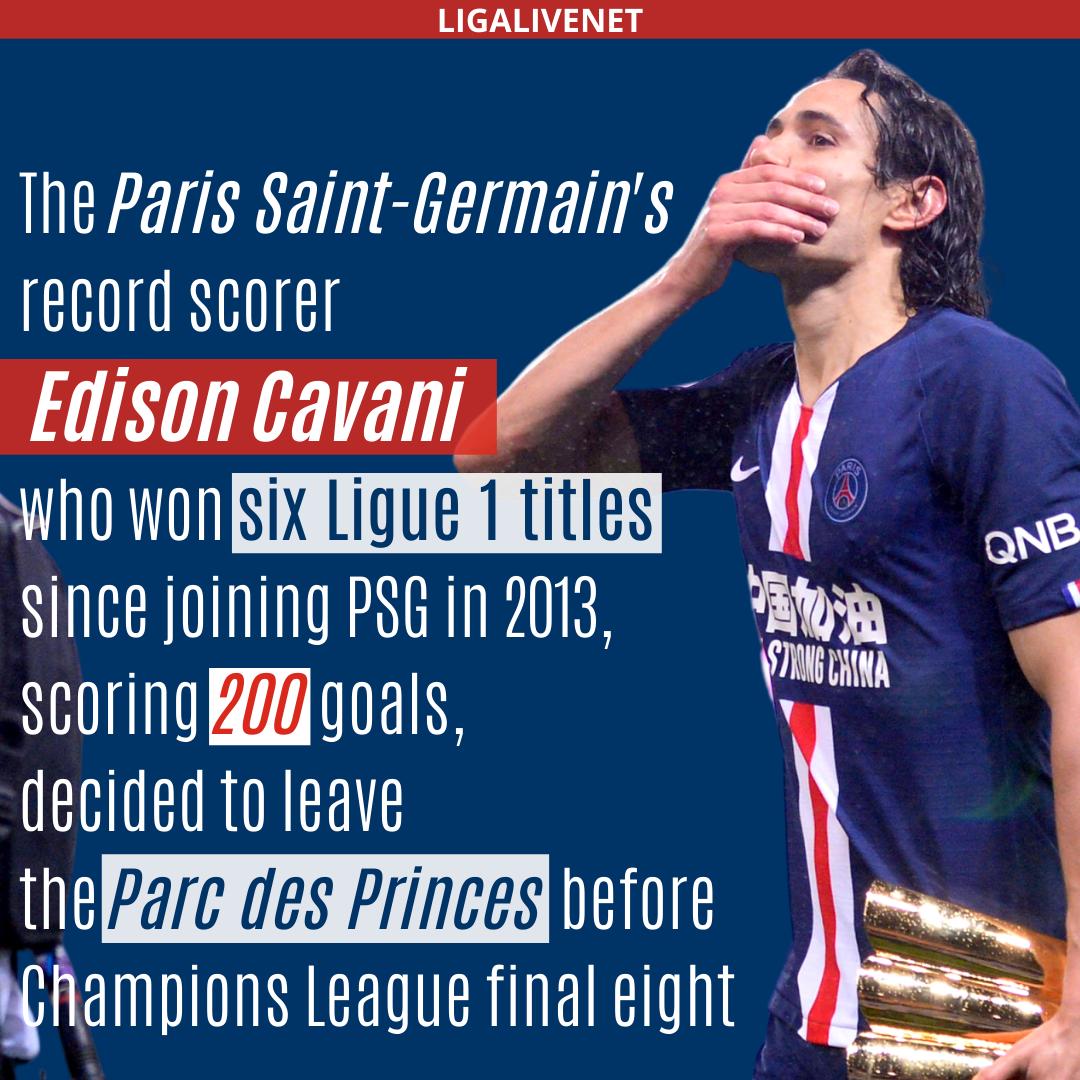 Cavani to leave PSG