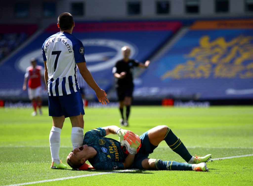 Leno's injury makes matters worse for Arsenal