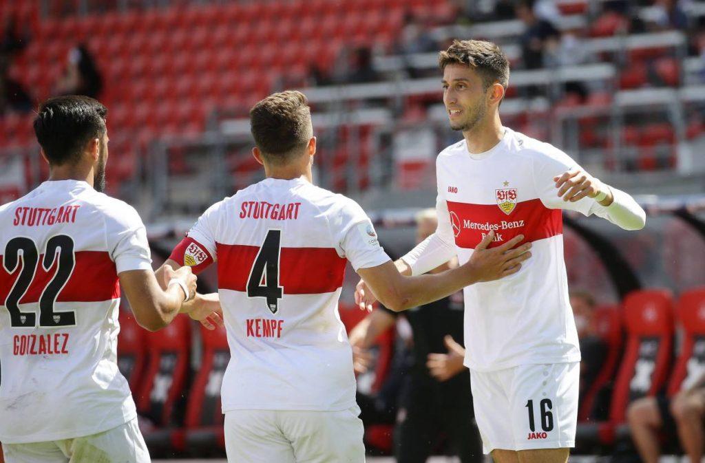 Stuttgart, 2. Bundesliga, VfB Stuttgart, Aufstieg, Nicolas Gonzalez, Marc Oliver Kempf, Atakan Karazor.