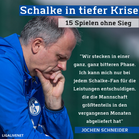 Schalke in tiefer Krise
