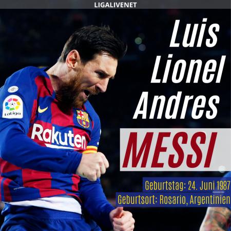 Messi Geburtstag