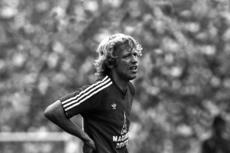 Karl del'Haye spielte nur selten für den FC Bayern.
