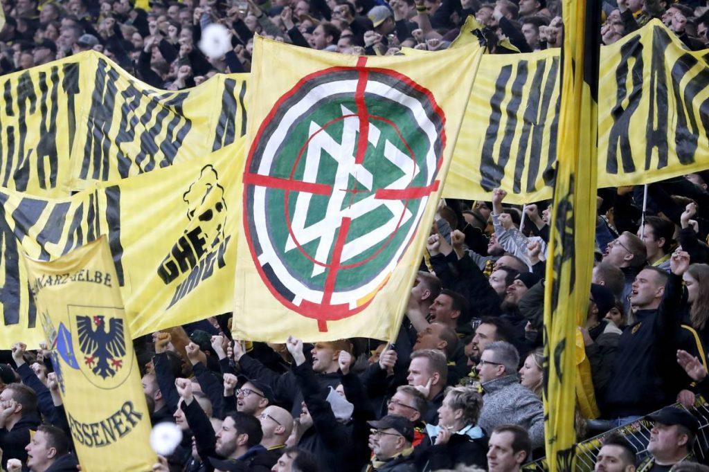 BVB, Ultras, DFB, Fadenkreuz