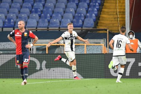 Parma move to 8th place in Serie A table after beating Genoa by 4-1. Andreas Cornelius scored the hat-trick for the home side.