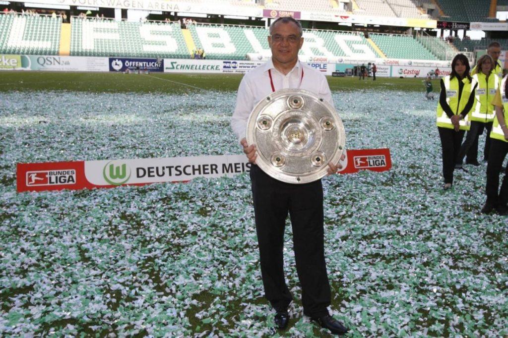 Wolfsburg Meister Trainer Magath