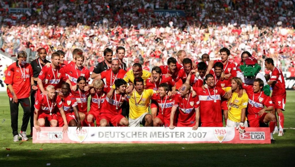 Deutscher Meister 2007 – Der VfB Stuttgart als Gesamt-Kunstwerk.