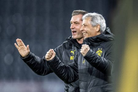 Zorc, Favre, Borussia Dortmund