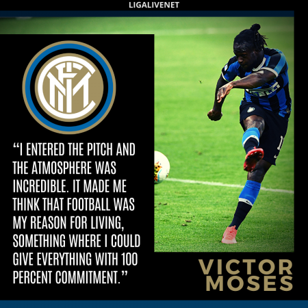 Victor Moses Inter Milan
