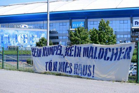 Tönnies, Banner, Schalke