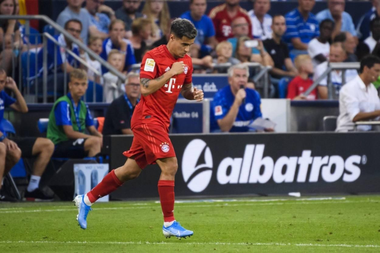 Der Tag, an dem Coutinho kam… Der Rekord-Leihspieler der Fußball-Bundesliga bei seinem Debüt für den FC Bayern beim FC Schalke 04 am 24. August 2019.