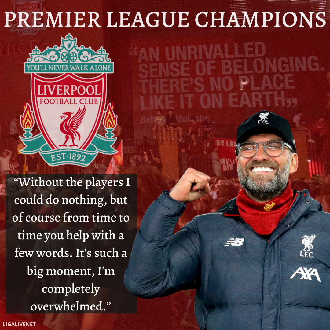 Liverpool wins Premier League