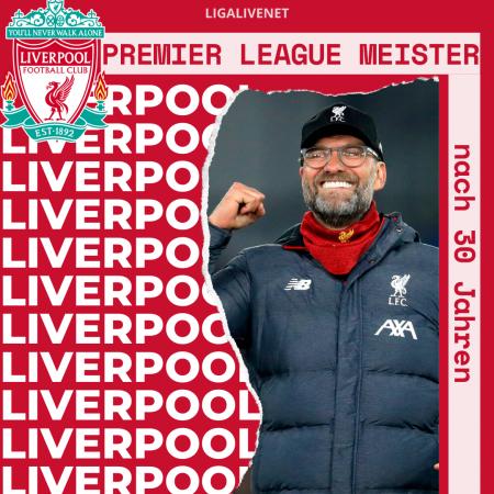 Liverpool wird zum Premier League Meister
