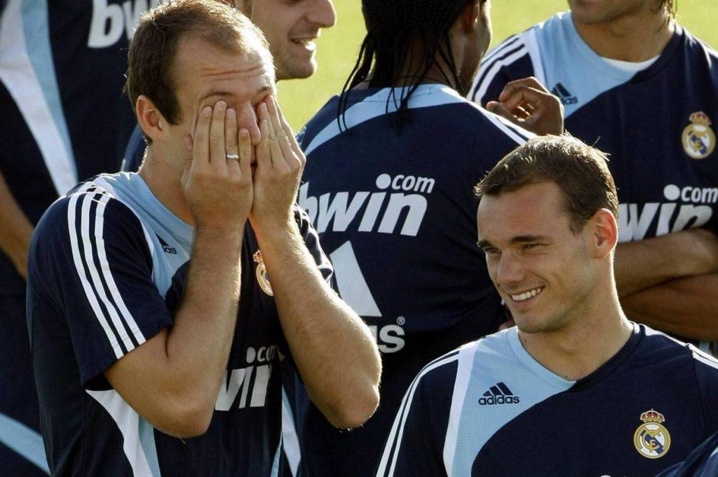 Arjen Robben Wesley Sneijder Real Madrid