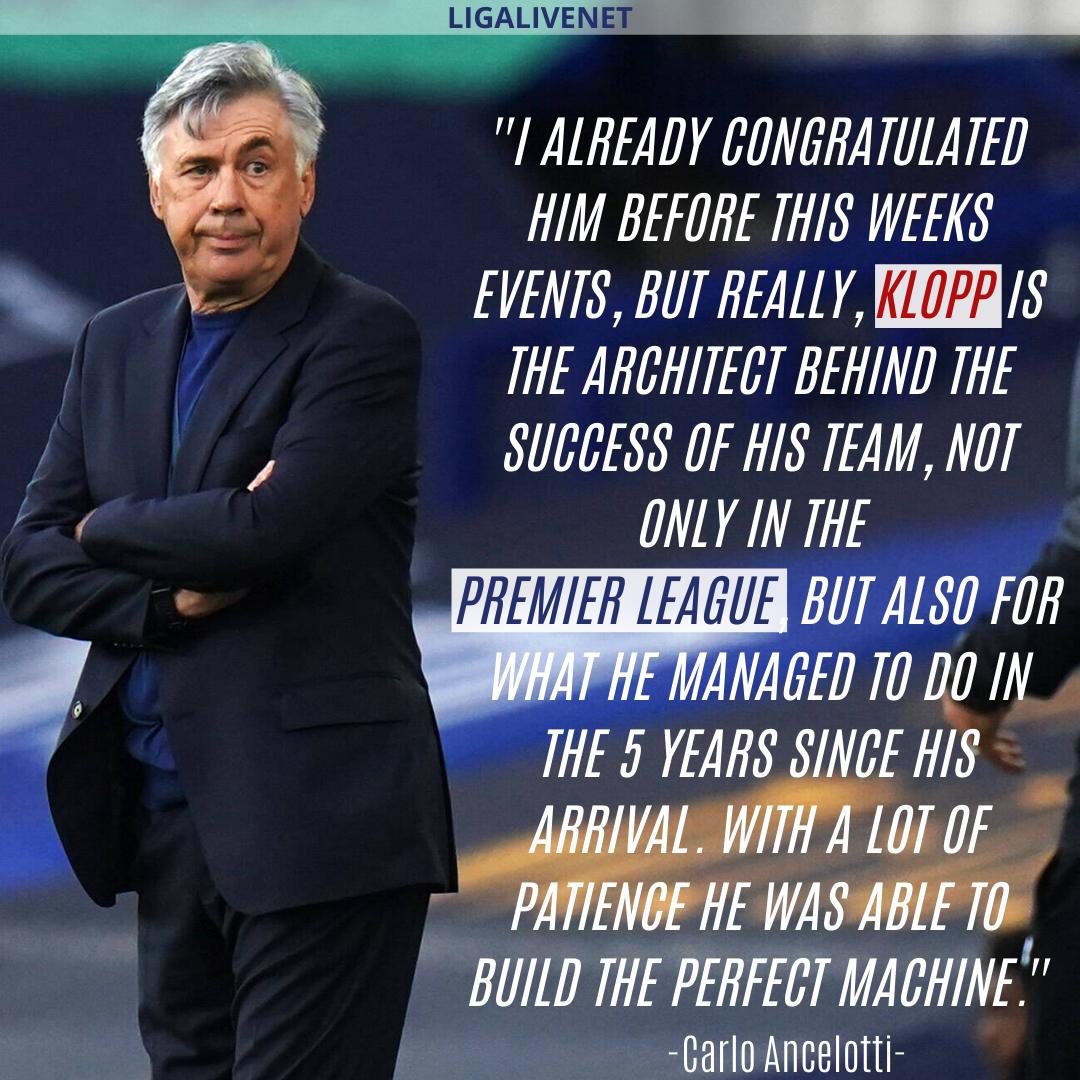 "Klopp has built the ""Perfect Machine"""