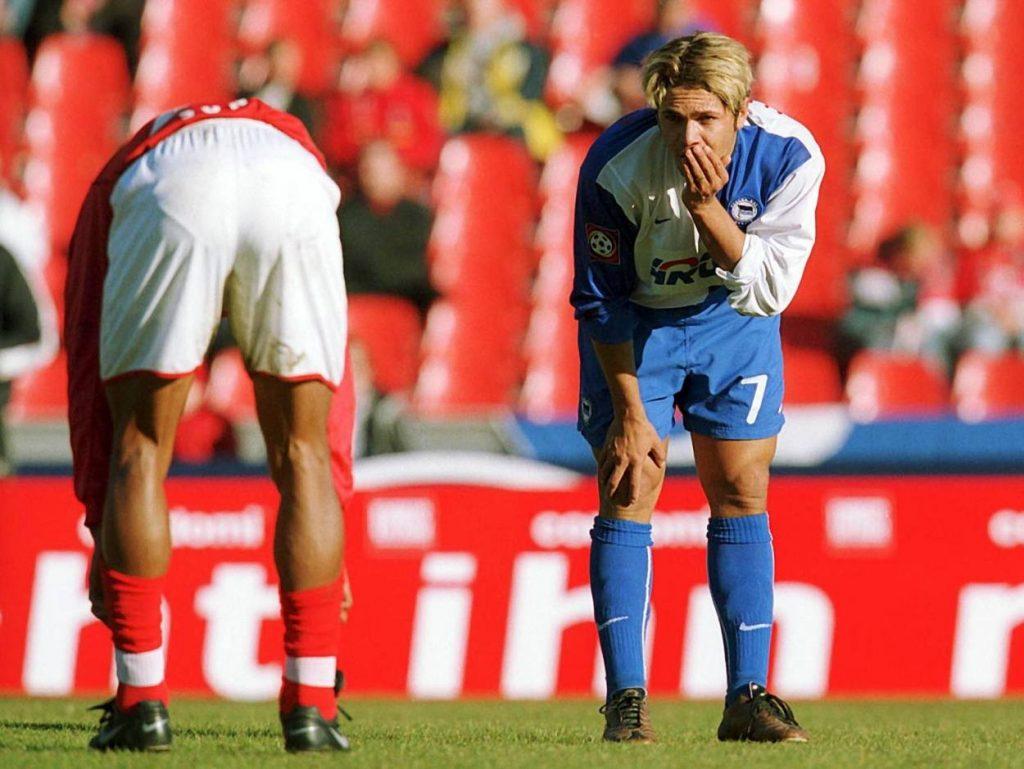 Ex-Hertha-Profi Alex Alves stürzte ins Nichts.