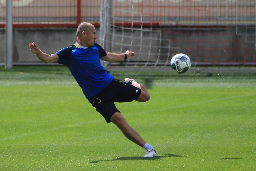 Robben, FC Bayern Muenchen, Groningen