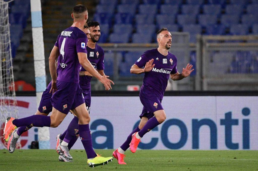 Lazio, Fiorentina, Italien, Fußball, serie A, Rom