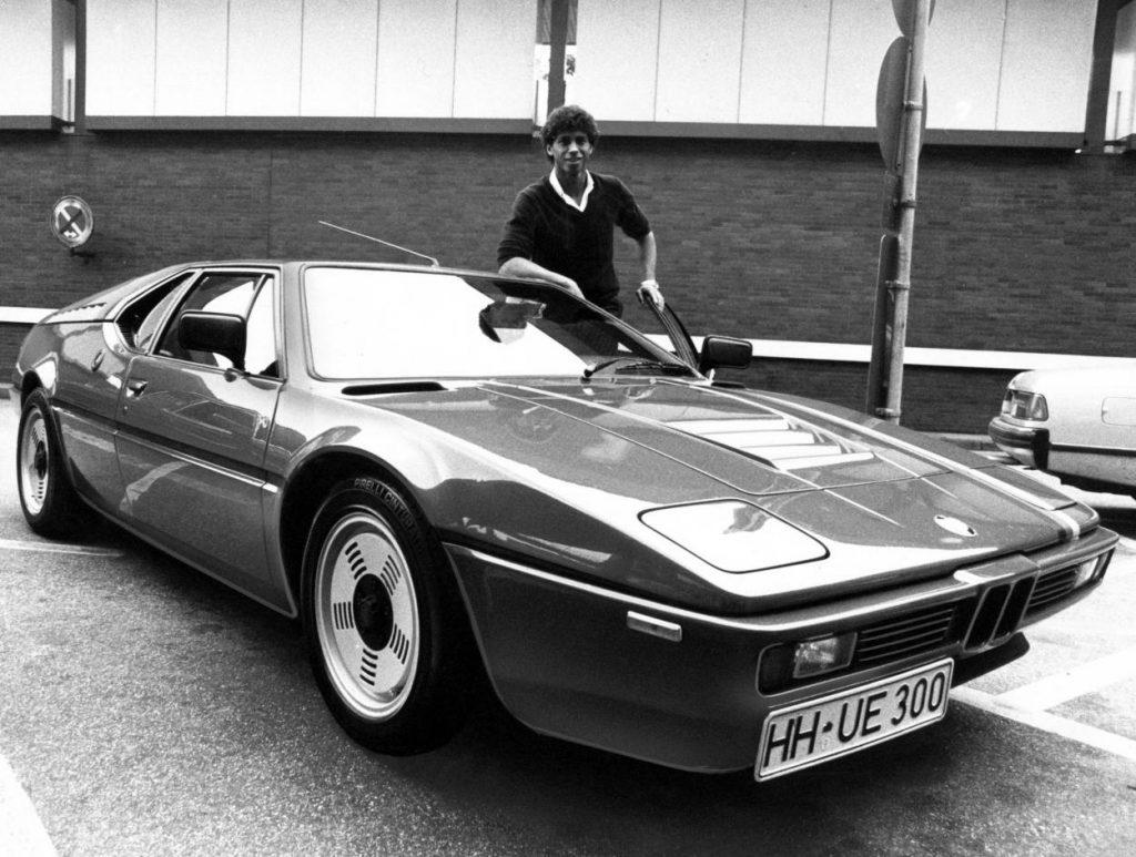 Jimmy Hartwig war während seiner Karriere ein Paradiesvogel – und liebte PS-starke Autos.