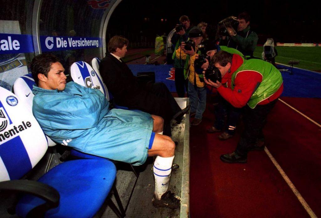 Alex Alves, hier Anfang 2000, wirkte bei Hertha BSC wie verloren.