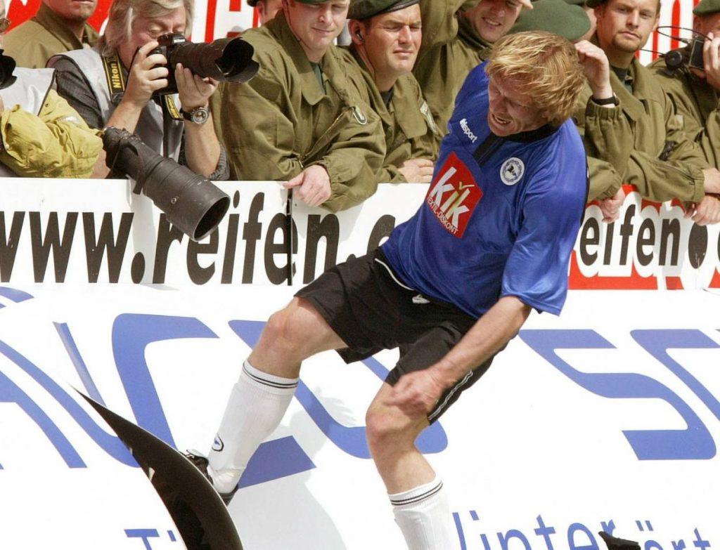 Ansgar Brinkmann stieg 2003 mit Arminia Bielefeld aus der Bundesliga ab.
