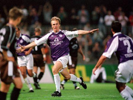 Auch bei Tennis Borussia Berlin blieb Ansgar Brinkmann nur in der Saison 1999/2000.