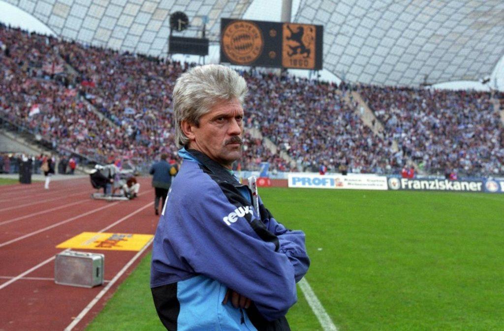 Werner Lorant führte 1860 München 1994 zurück in die Fußball-Bundesliga.